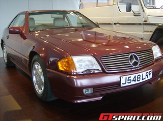 Princess Diana's 1991 Mercedes-Benz R129  500 SL | by daveoflogic