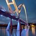 Stockton Infinity Bridge Evening