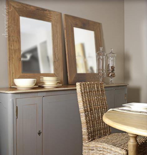 Aparador de madera pintada en gris apostar por maderas - Boga muebles catalogo ...