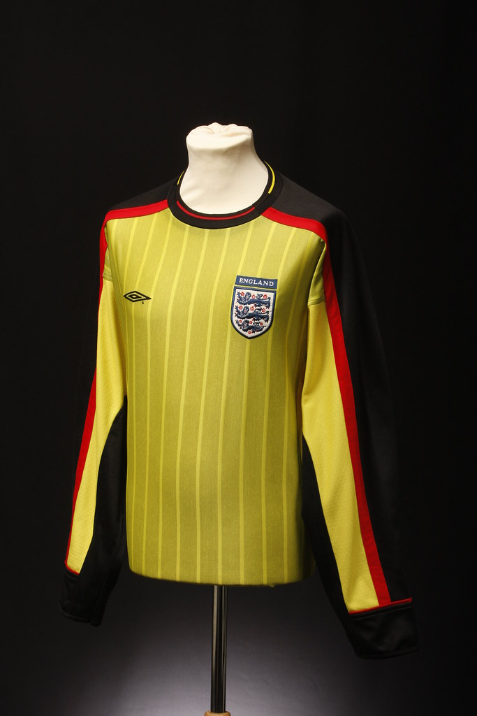 England football shirt goalkeeper prototype 2001 flickr for How to make a prototype shirt