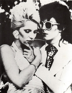 David & Angie Bowie | by vanessa waterhouse