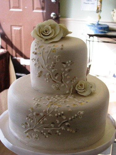 Elegant Birthday Cake Stacked Elegant Birthday Cake All