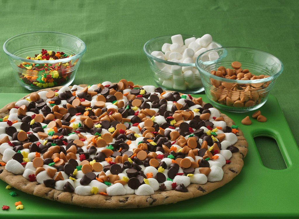 Thanksgiving Cookie Pizza Recipe Ingredients 1 Roll 16