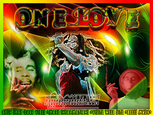 One Love Weed Wallpaper