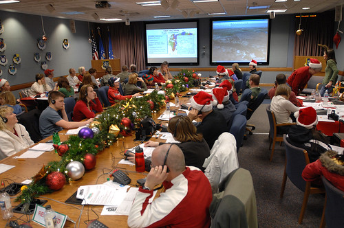 NORAD's Santa Tracking Center (Courtesy NORAD) | by Contra Costa Times