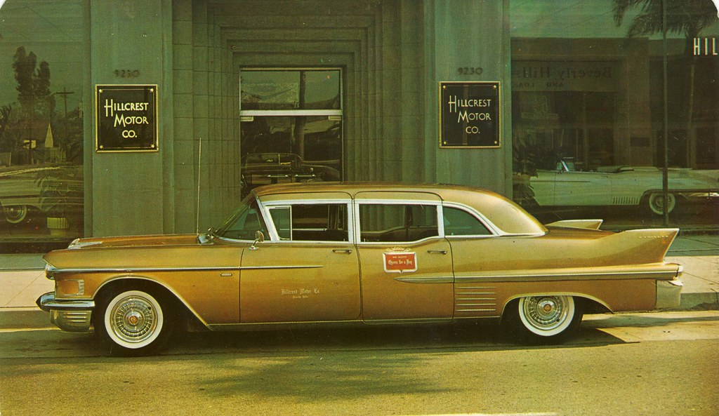 1958 Cadillac Seventy Five Limousine Hillcrest Motor Co