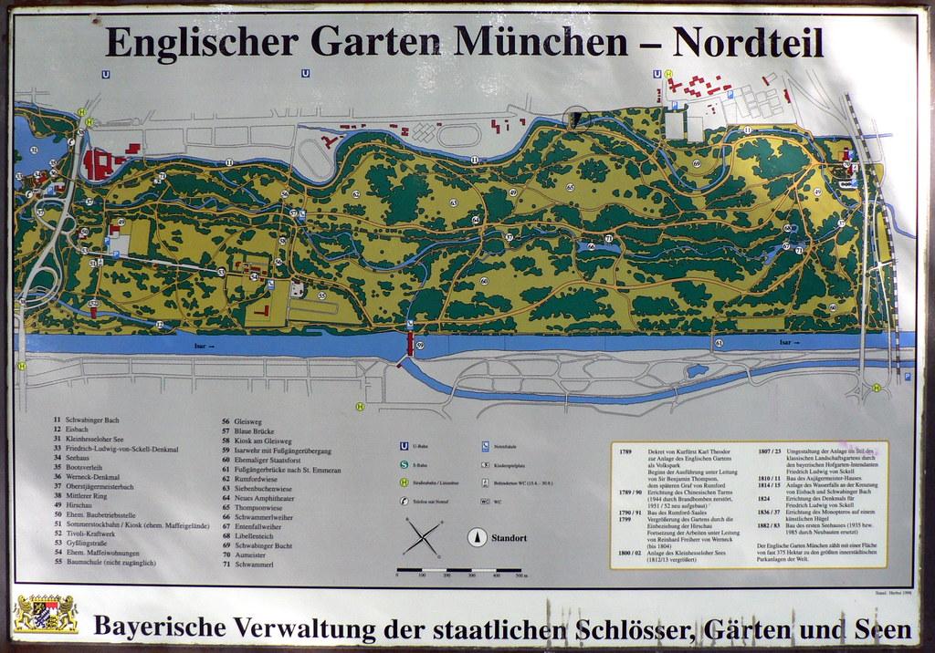 Englischer Garten Map (North) | Alistair Young | Flickr
