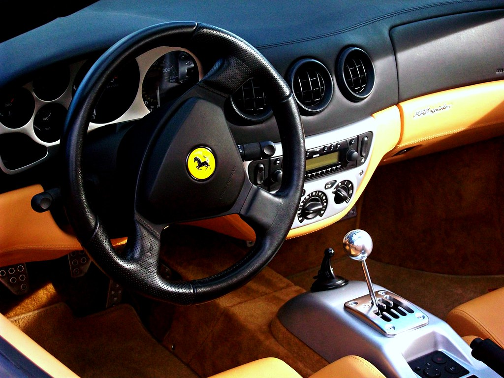 ferrari 360 modena spider interior monkey wrench media flickr. Black Bedroom Furniture Sets. Home Design Ideas