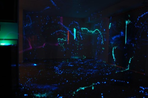 Glow Stick Paint On Walls