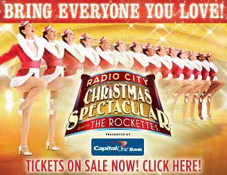 Rockettes Tickets  Tour