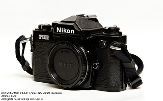 Nikon FM2 in Black | by Ma Michael
