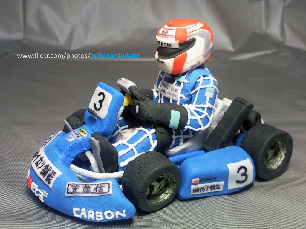 Go Kart World >> Capeta Caketopper_side view | By far this is the most detail… | Flickr