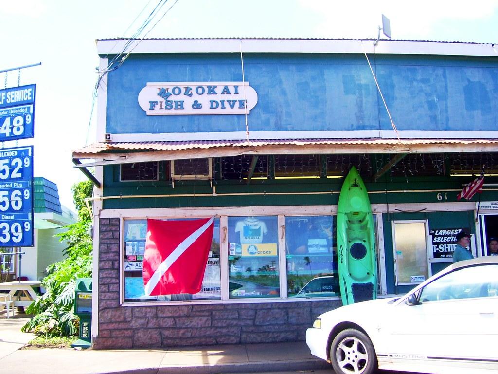 Molokai fish dive they also sell molokai designed t sh for Molokai fish and dive