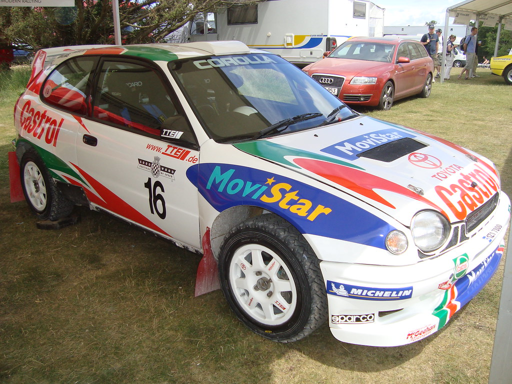 Toyota Corolla Rally Car 90\'s | This is the Toyota Corolla R… | Flickr