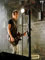 Robin Finck - Nine Inch Nails live in Rome