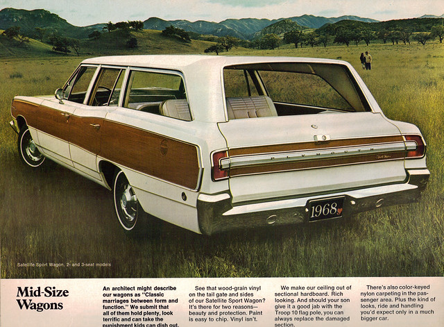 1968 plymouth satellite sport wagon flickr photo sharing. Black Bedroom Furniture Sets. Home Design Ideas