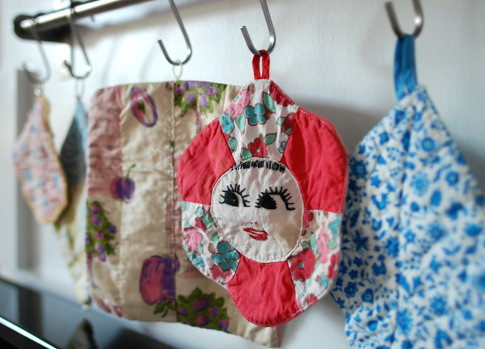 Vintage Potholders | by Art·Craft·Thrift