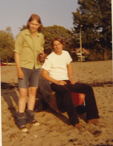 Rob & Ches, Kitsilano, Vancouver BC 1972 | by LaurieS Picture Album