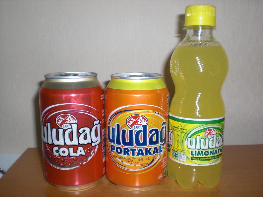 Uludag Genuine Turkish Soda In Germany Uludag Gazoz Is