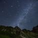 Japan Alps Milky Way Meteor