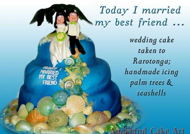 Wedding Cakes Rarotonga