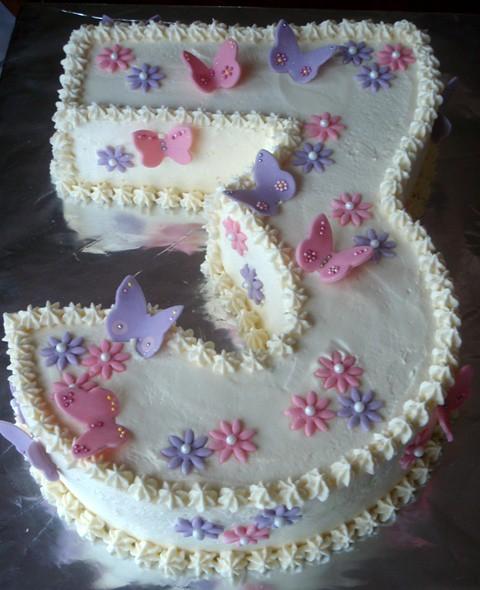 Number  Birthday Cake Ideas