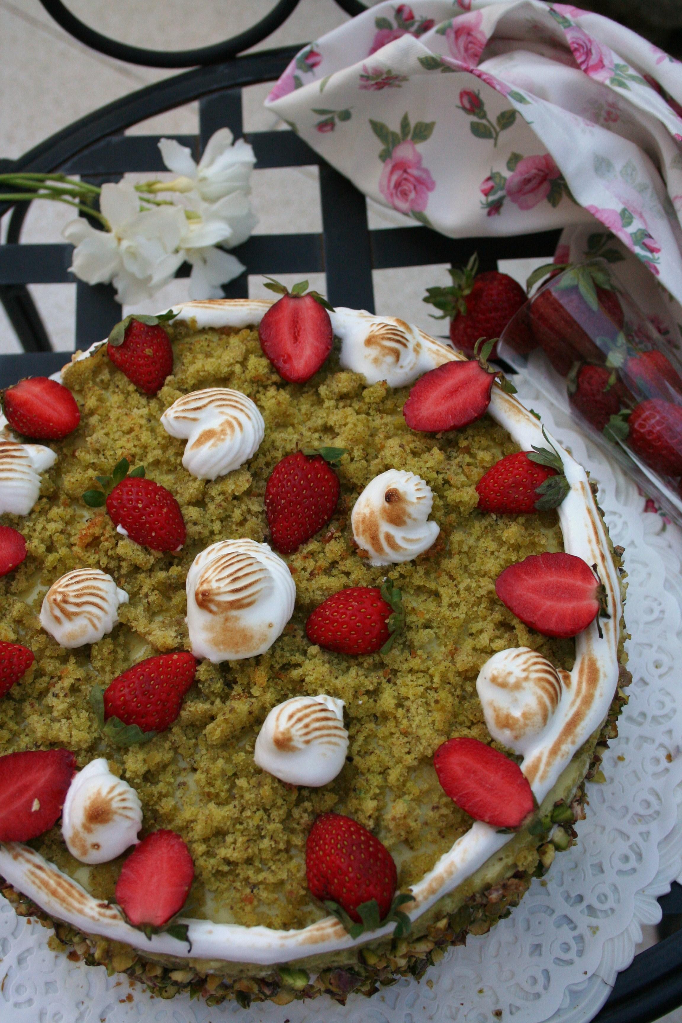 torta pistacchio e fragole Antonio 023