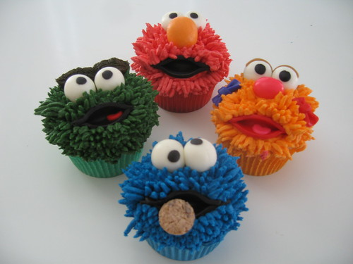 Sesame Street Cupcakes | by candywarhola