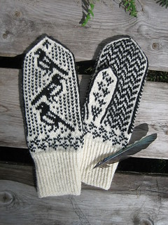 Magpie mittens 4 | by yarn jungle