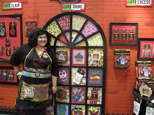 Crafty Chica at CHA in Orlando | by Handmade Nation!