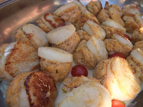 Crab-Stuffed Scallops | by swampkitty