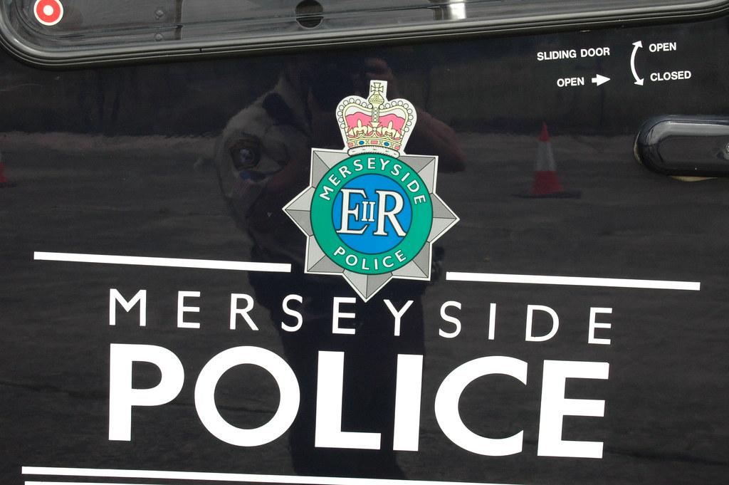 Badge Merseyside Police Helicopter Speke Airport