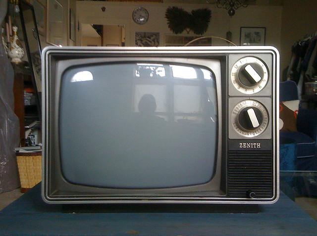 Sold 15 Retro 13 Quot Black White Zenith Tv My Roommate