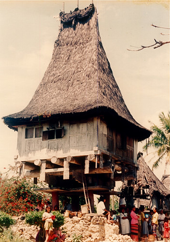 Raca Village, Los Palos - Timor Leste | Typical house of