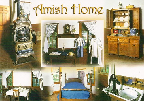 The Plain Lifestyle Of The Amish People Is