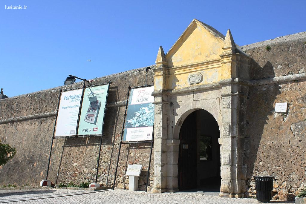 Forteresse de Peniche, entrée du musée