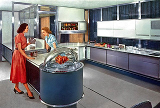 1957--Frigidare prototype kitchen | by x-ray delta one