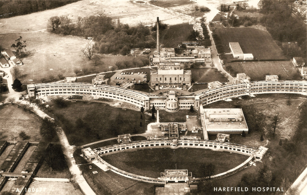 Harefield The Hospital Prior To 1970 And Some Interesti