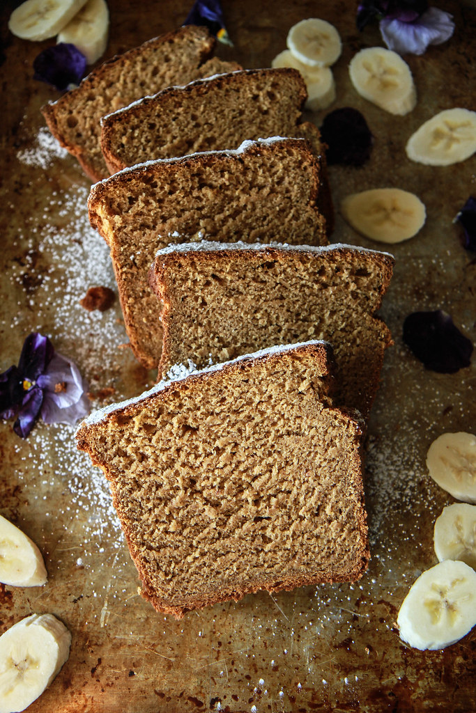 Sweet Potato Banana Bread- Gluten Free and Vegan from HeatherChristo.com