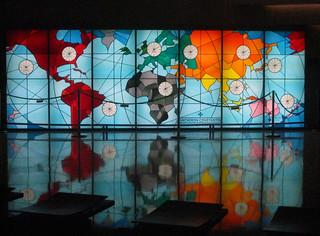 mappemonde d coration murale dans une salle de l 39 op ra bas flickr. Black Bedroom Furniture Sets. Home Design Ideas
