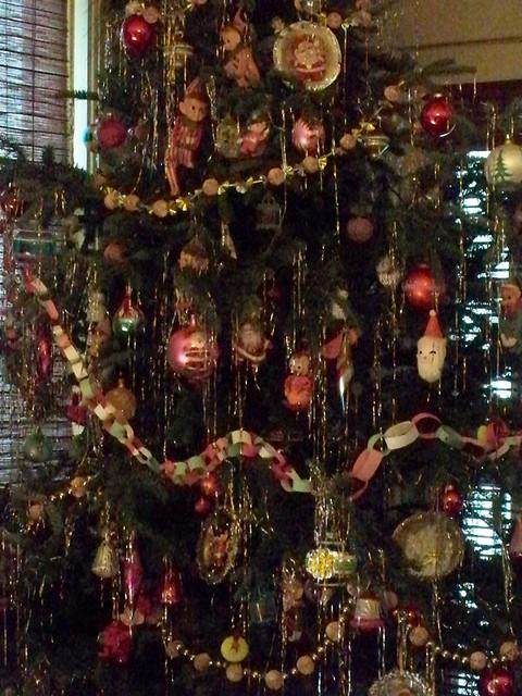 by jbarbiejean leaded tinsel on my christmas tree by jbarbiejean