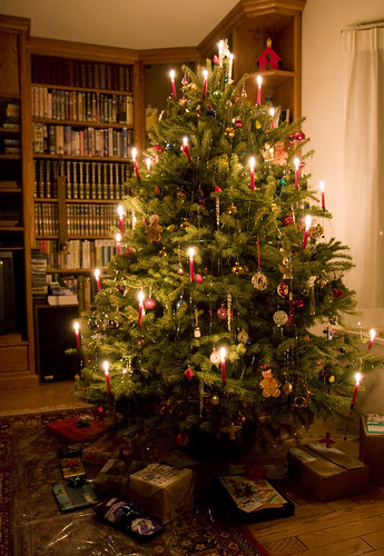 Christmas Tree Candles 2009 It S A Swiss Tradition To
