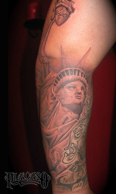 Statue of liberty tattoo 59257 new york state of mind for Free tattoos nyc 2017