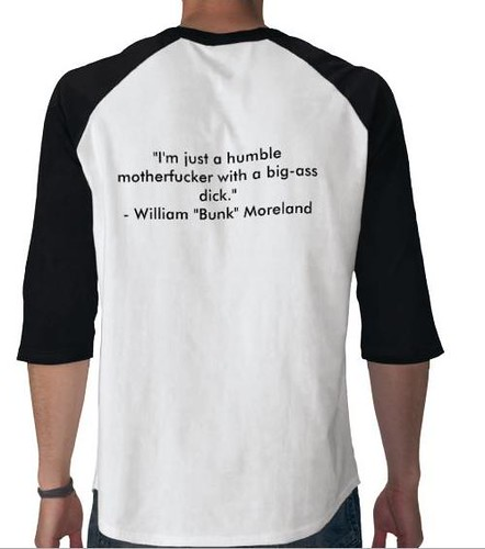 the wire, bunk t-shirt back | My friend Mark introduced me m… | Flickr