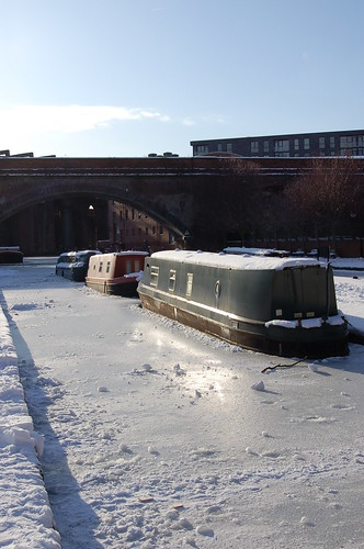 Frozen lock at Castlefield | by paulangus