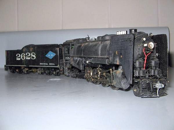 custom ho scale mantua 2 8 2 now a 2 8 4 steam locomotiv flickr