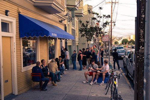 The Line at Humphry Slocombe's | by Orin Zebest