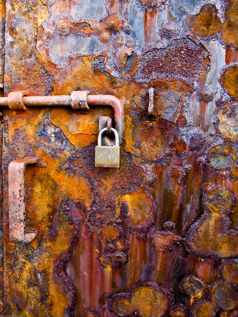 Rusty Door rusty door | ardrishaig | perspicacious | flickr