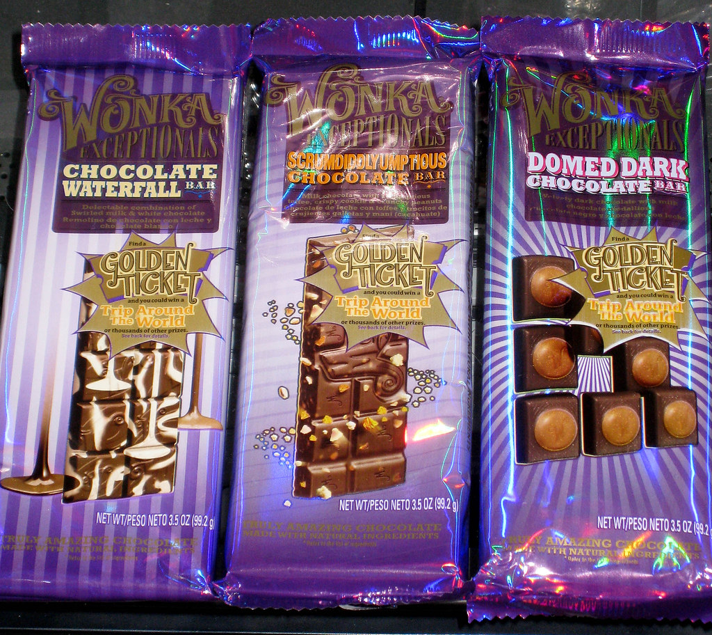 Nestle - Wonka Exceptionals candy bars - Chocolate Waterfa…   Flickr