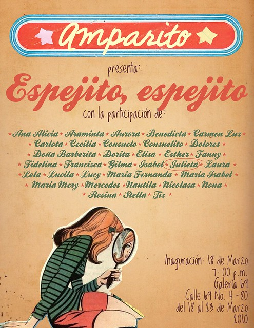 Espejito espejito flyer by almadepapel by for Espejito espejito